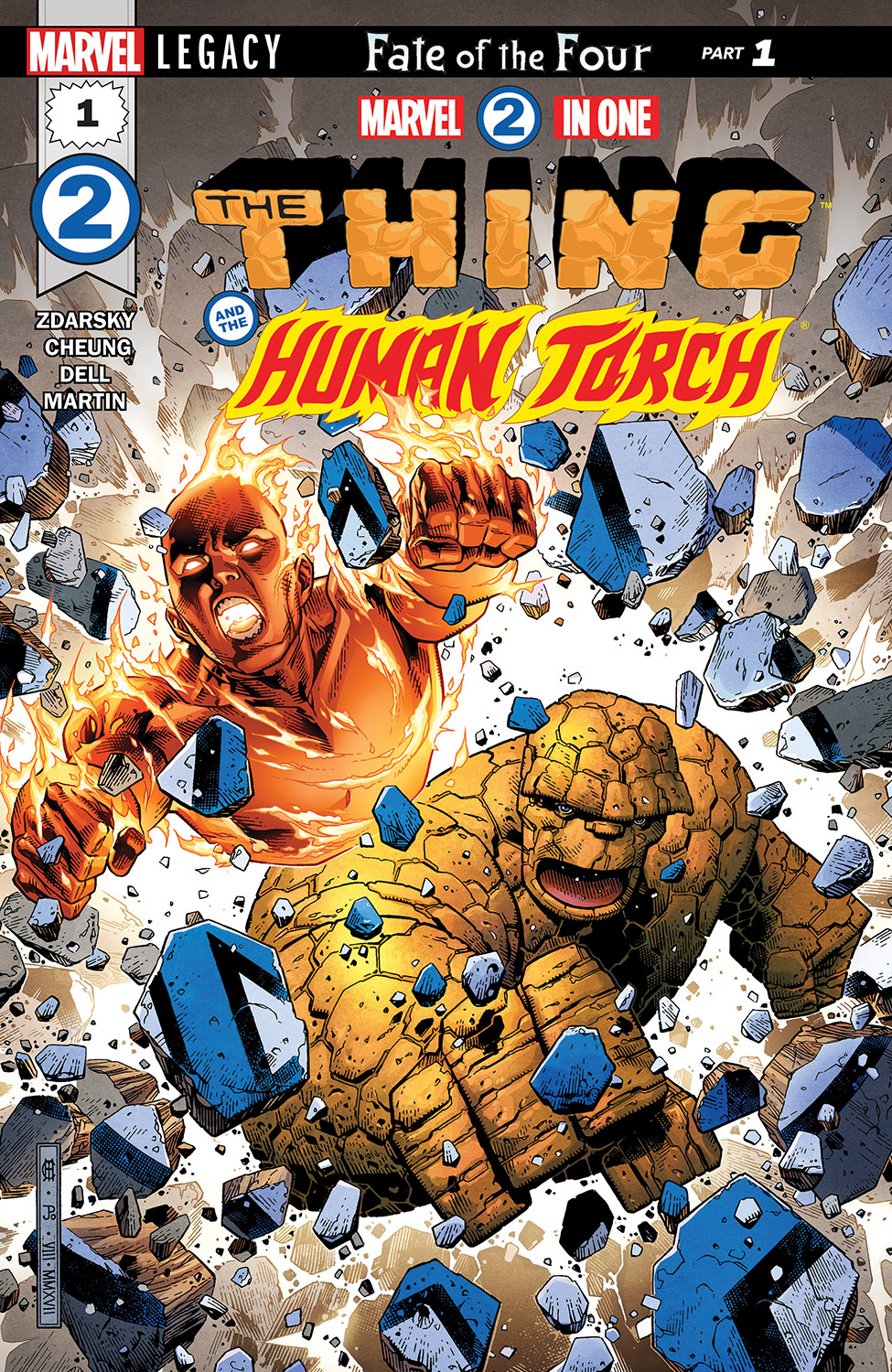 Marvel 2-in-One #1
