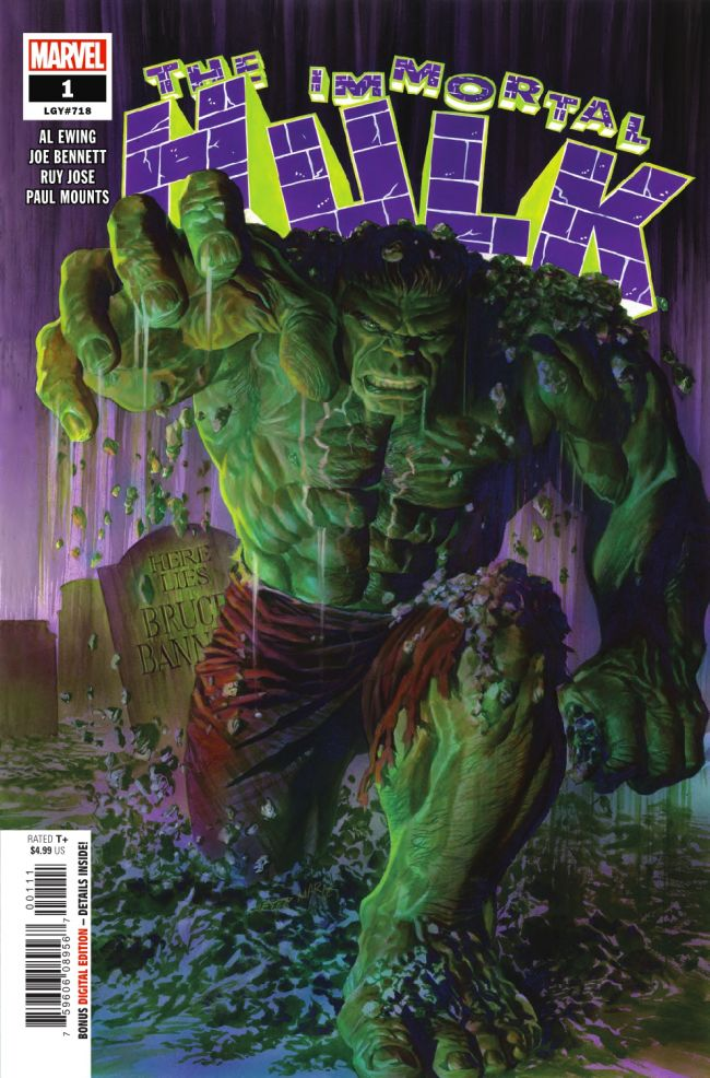 Immortal Hulk #1 Cover