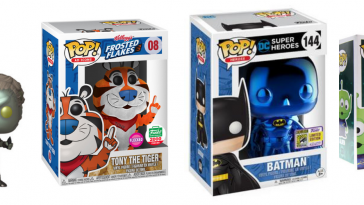 Collectible Pop Vinyl Figures