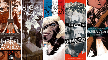 The Umbrella Academy Comic Series
