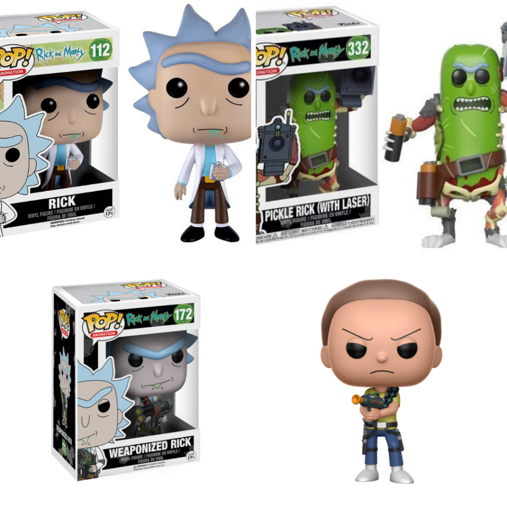Rick and Morty Funko Collectibles