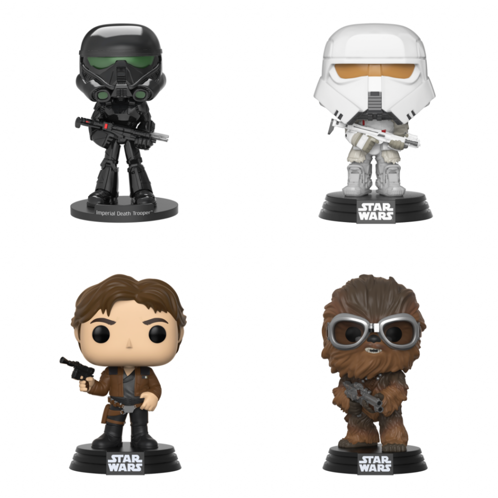 Star Wars Funko Collectibles