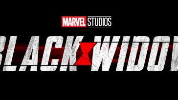 Black Widow Movie Logo
