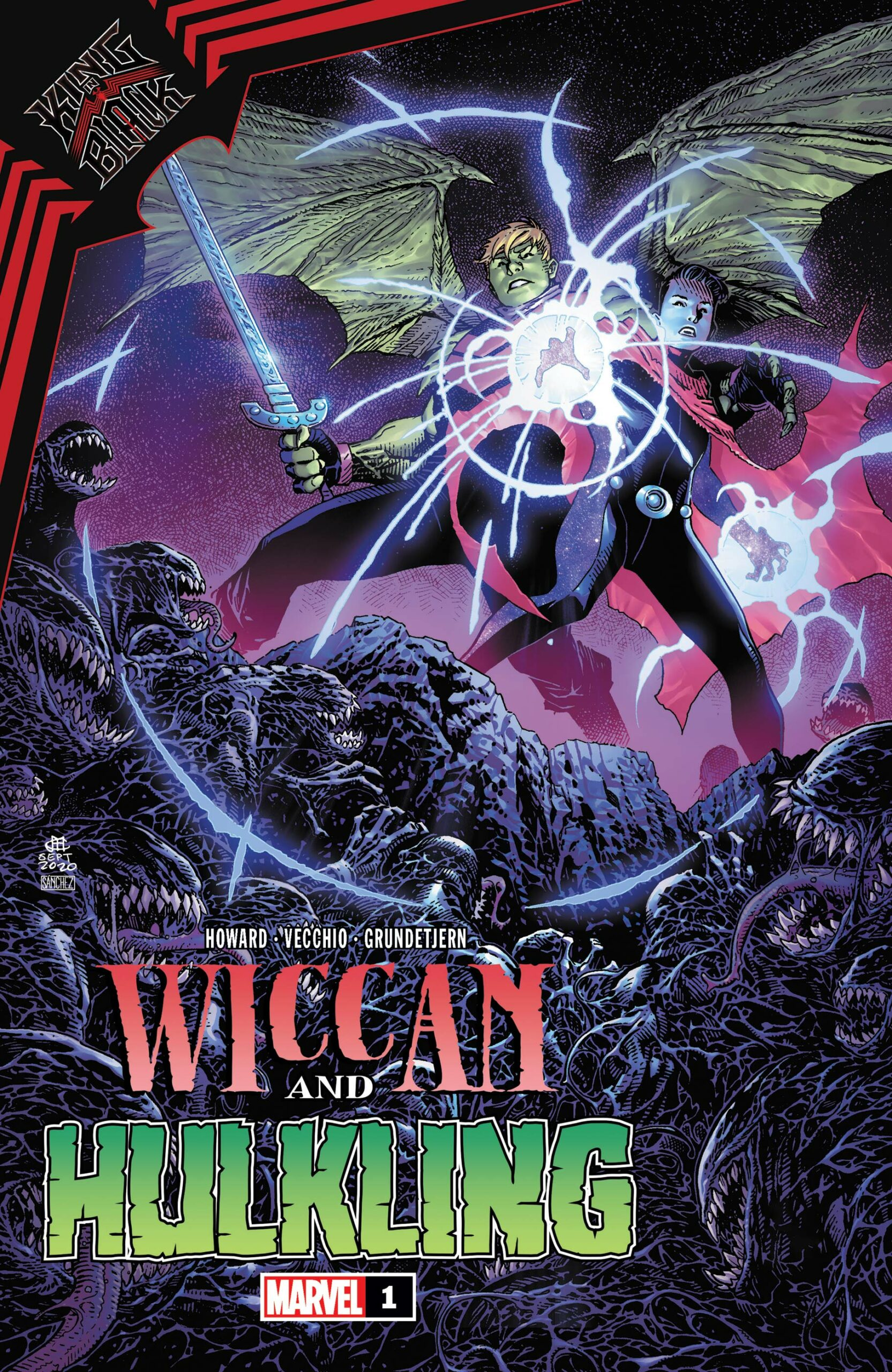 King In Black: Wiccan And Hulking (2021) #1