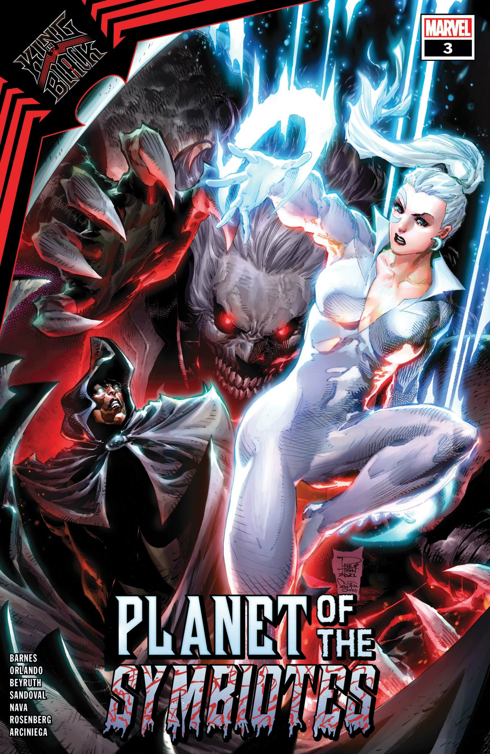 King in Black: Planet of the Symbiotes (2021) #3